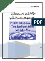 Phy301.Final Mcqs