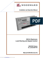 Woodward 2301a manual (9905, 9907)