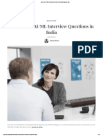 Most Asked AI_ML Interview Questions in India