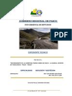 ESTUDIO GEOLOGICO GEOTECNICO