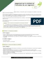 Charte Engagement Entretien Logement 3104
