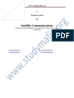 ECE Satalite Communication Report