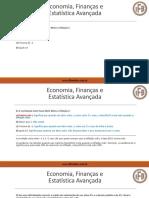 CPA-20 Exerci Cios Economia Financ as e Estati Stica Avanc Ada