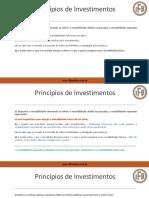 CPA-20 Exerci Cios - Princi Pios de Investimentos