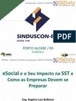 Sinduscon-rs Balbinot Setembro 2017