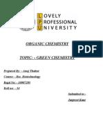 Green Chemistry 2003
