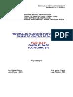 Els-91 Programa de Fluidos