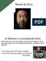 Ai Weiwei and China.ppt