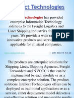 Intellect Technologies PPT