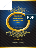 Selections From Islamic Jurisprudence