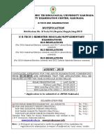 Jntuk 2-1 Bt Notification Sept 2019