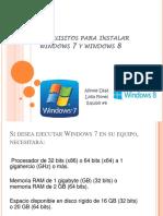 Requisitos de para instalar windows