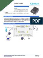 Comba  4G Repeater User Manual