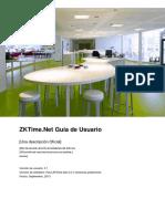 ZKTimeNet Lite Manual