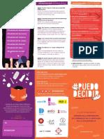 #PuedoDecidir, la campaña para prevenir el embarazo adolescente no deseado