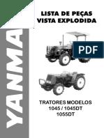Catálogo Trator 1045 - 1055