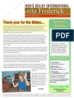 newsletter october 2010