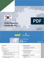 Coreias como exportar