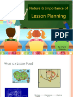 Nature and Importance of Lesson Planning (1).pptx