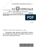DLgS105 Articolato Gazzetta