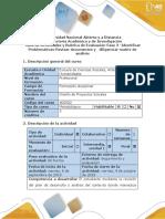Guía de Actividades y Rúbrica de Evaluación - Fase 2 - Identificar Las Problemáticas - Revisar Documentos y Diligenciar La Matriz de Análisis-