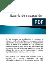 Bateria de Separacion