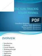 AUTOMATIC SUN TRACKIG SOLAR PANNEL ppt.pptx