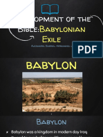Development of the Bible_ the Exile