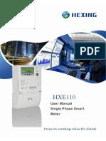 HXE110 User Manual V1.1