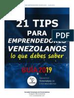 21 TIPS para Emprendedores Venezolaos - 2019 - SOVEMPRENDE.COM (2).pdf