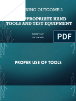 Use Appropriate Hand Tools and Test Equipment