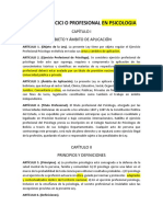 Ley Del Ejercicio Prof Psi Revisado 25 de Enero 19