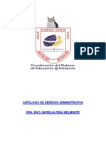 Antolologia administrativo