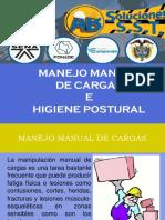 Riesgo Biomecanico- Factor de Riesgo Manejo Manual de Carga