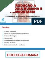 2-Introdução a Fisiologia e Homeostasia-1