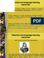 didactics and language learning resources