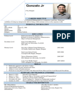 Resume (Theodore Gonzalo)