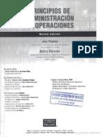 Principio de La Admin is Trac Ion de Operaciones