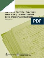 Narrativa docente, prácticas escolares y reconstrucción de la memoria pedagógica.pdf