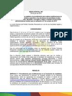 RESOLUCIÓN 007 Colombia Renaciente