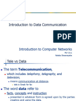 Lecture 1.1 - Introduction to Data Communication