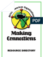 African Americans Making Connections Resource Directory
