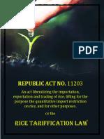 Tax Tarification Law