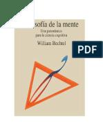 Bechtel William - Filosofia De La Mente.pdf