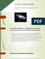 Definición de Astronomía