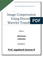 Image Compression Using DWT