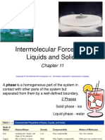 Chapter 11 Intermolecular Forces