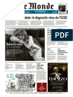 Journal LE MONDE Et Suppl Du Vendredi 20 Septembre 2019