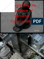 Understanding the Importance of Nonverbal Communication. Dan Terry