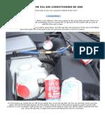 Air Conditioning Re-gas Sprayburk